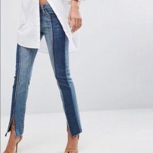 Blank NYC Split Seam Skinny Jean - Blue